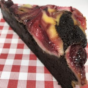 Cherry Cheesecake Brownie